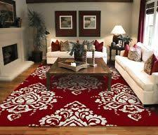 Area Rugs Contemporary Modern Polyester Abstract Contemporary Area Rugs Ebay