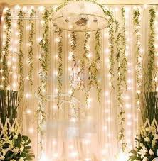 led waterfall water l stage background light wedding props