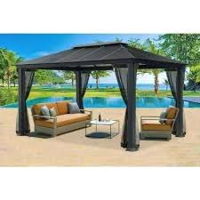 12x12 Patio Gazebo Patio Gazebo Canopy Roblauer Me