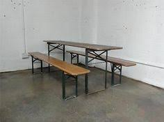 german beer garden table and bench outdoors european biergarten table and bench set beer garden