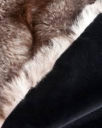 Fox Fur Blanket Scandanavian Blue Frost Fox Blanket True North Furs