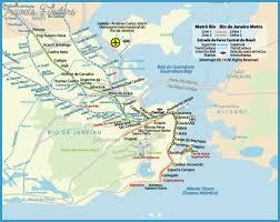 de janeiro on the world map de janeiro subway map travelsfinders