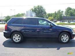 2006 midnight blue pearl chrysler pacifica touring awd 15781879