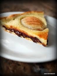 moucheron cuisine tarte poires et chocolat recette moucheron en devenir et peine