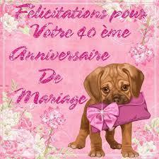 40 ans de mariage felicitations pour vos 40 ans de mariage kdos pour toi http