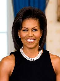 ms obamas hair new cut file michelle obama official portrait headshot jpg wikimedia commons