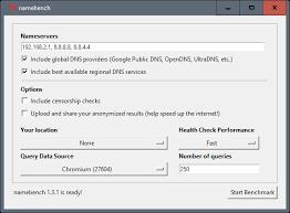 Download Linux Dns Server Software by Dns Server Benchmark Namebench Ghacks Tech News