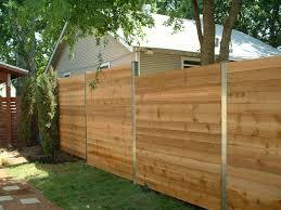 horizontal wooden fence home interiror and exteriro design