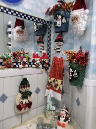 ideas nice christmas bathroom decor ideas sipfon home deco
