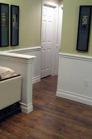 wainscoting and tiling a half bath hgtv