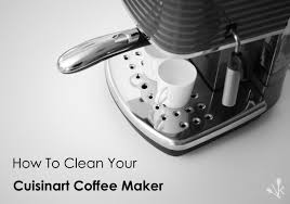 Keurig Descale Light How To Clean A Cuisinart Coffee Maker Kitchensanity