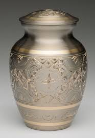 creamation urns small platinum and gold cremation urn memorial urns