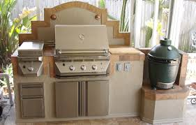 outdoor kitchens perfect complement with a big green egg