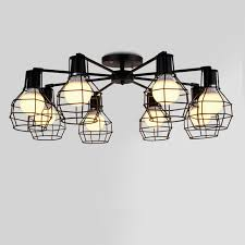Low Ceiling Light Modern Pendant Lights L Branch Iron Ceiling L For