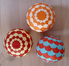 sphere 002 homemade christmas ornaments cut paper and free