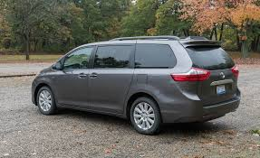 toyota family car 2017 toyota sienna in depth model review car and driver