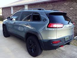 jeep cherokee black with black rims new stickers 2014 jeep cherokee forums