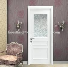 Etched Glass Interior Door Frosted Bathroom Door Wood Bathroom Frosted Glass Interior Door