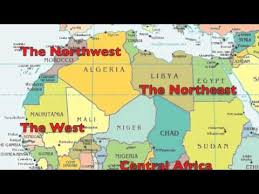 africa map with country names and capitals learn africa geography rap song africa 53 with fluency mc