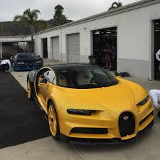 first bugatti new bugatti chiron gets meticulously unwrapped for the first