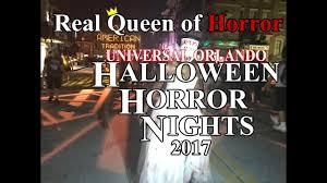 universal orlando halloween horror nights 2017 youtube
