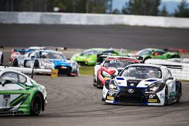 lexus racing car difficult weekend for emil frey lexus racing at season final at