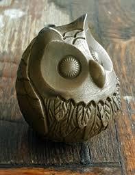 Owl Home Decorations Owl Sculpture Owl Owl Figurine Owl Decor Vintage Owl Bird