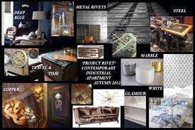 mood u0026 ideas board for a glamorous yet industrial interior design