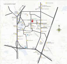 Local Map Slv Developres Slv Greencity Location Map