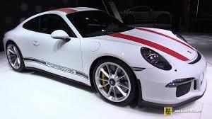 porsche 911 r interior 2017 porsche 911r exterior and interior walkaround debut at