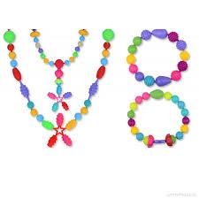 necklace making set images Kids pop beads jewellery making set plastic pop snap beads jewel jpg