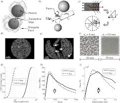 discrete modeling of ultra high performance concrete with