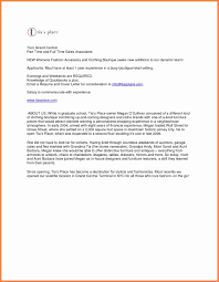 sample cover letter for retail sales amazingproducts us