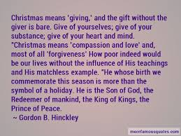 quotes about gift giving at christmas top 11 gift giving at