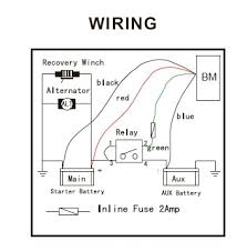 100 winch wiring diagram two solenoid winch wires to