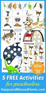 5 free preschool worksheets for preschool alphabet letter d