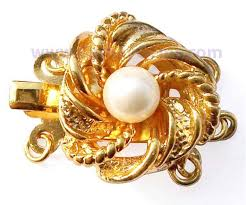 pearl bracelet gold clasp images Pearl clasps 14k solid gold clasp gold plated clasps jpg