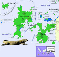 Java World Map by Komodo Island Maps Komodo Is One Of The 17 508 Islands That