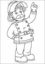 image 84983 coloriage de sam le pompier coloriages pinterest