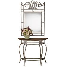 Metal Console Table Hillsdale Furniture Montello Dynamic Old Steel Console Table 41547