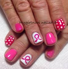 day 301 pink polka dots nail art dot nail art nails magazine
