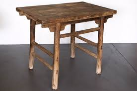 antique chinese elm dining table for sale at pamono