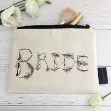 bridal makeup bag rustic bridal makeup bag woodland wedding connor designs