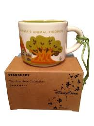 mug ornament christmas ornament starbucks mug animal kingdom