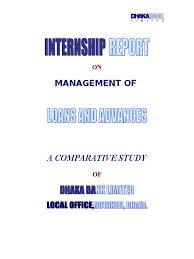 Authorization Letter Check Encashment internship report on management of loan and advances of dhaka bank