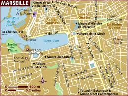 marseilles map map of marseille
