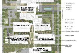 rehabilitation center floor plan veterans healthcare medical center portfolio rozas ward