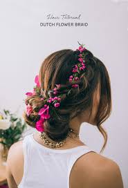 flower hair hair tutorial flower braid green wedding shoes