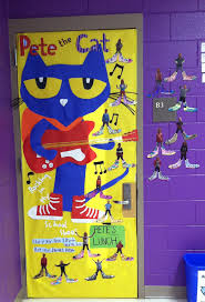 Pete The Cat Classroom Decorations Pete The Cat Door Love The Pictures Of The Kids With Big Shoes