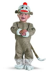 Woody Halloween Costumes Infant Sock Monkey Costume Kids Costumes